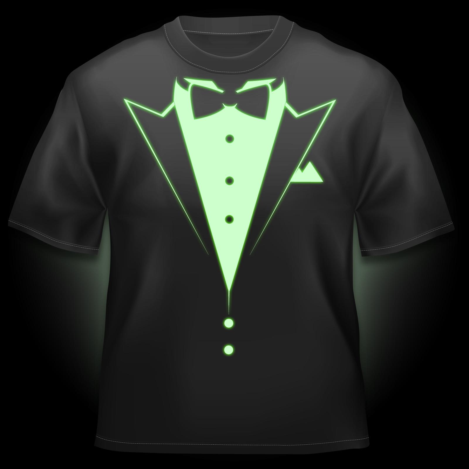 Glow T Shirt Dinner Jacket
