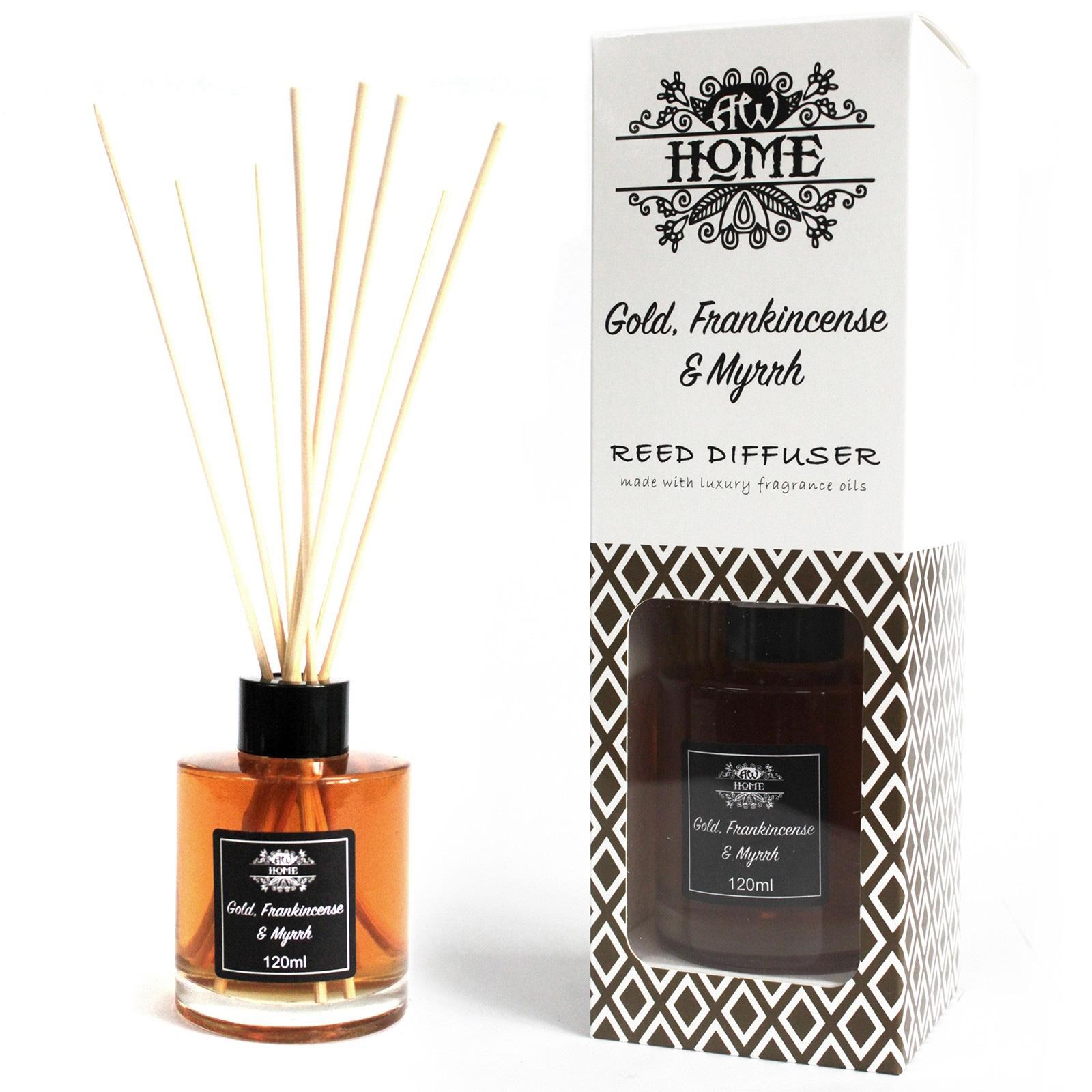 Gold Frankincense And Myrrh Reed Diffuser 120ml
