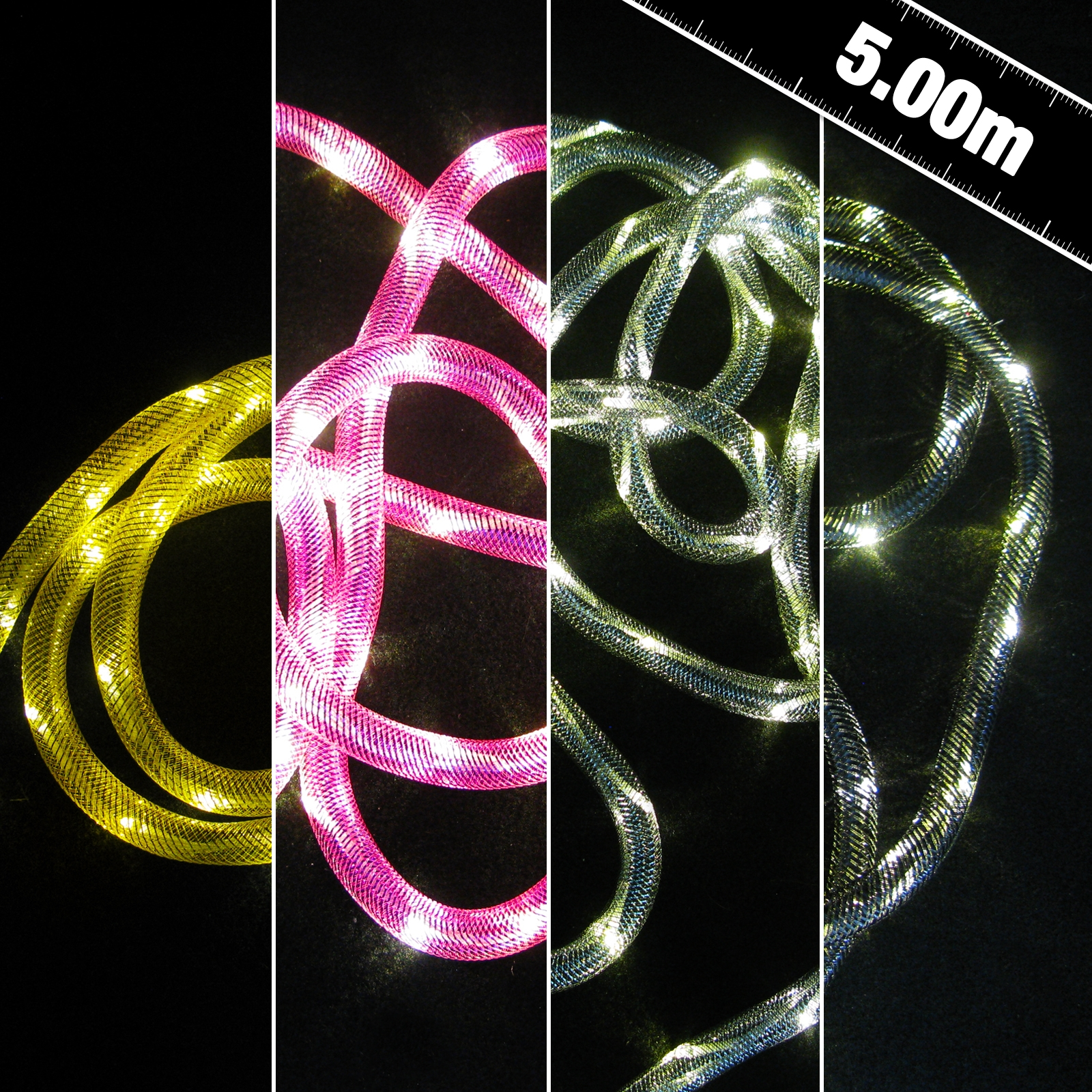 Click to view product details and reviews for Mesh Led Rope Light.