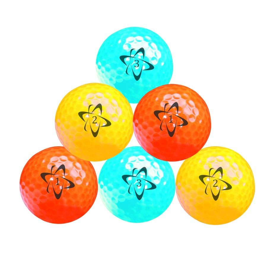 Click to view product details and reviews for Atomic Hi Vis Neon Golf Balls 6 Pack.