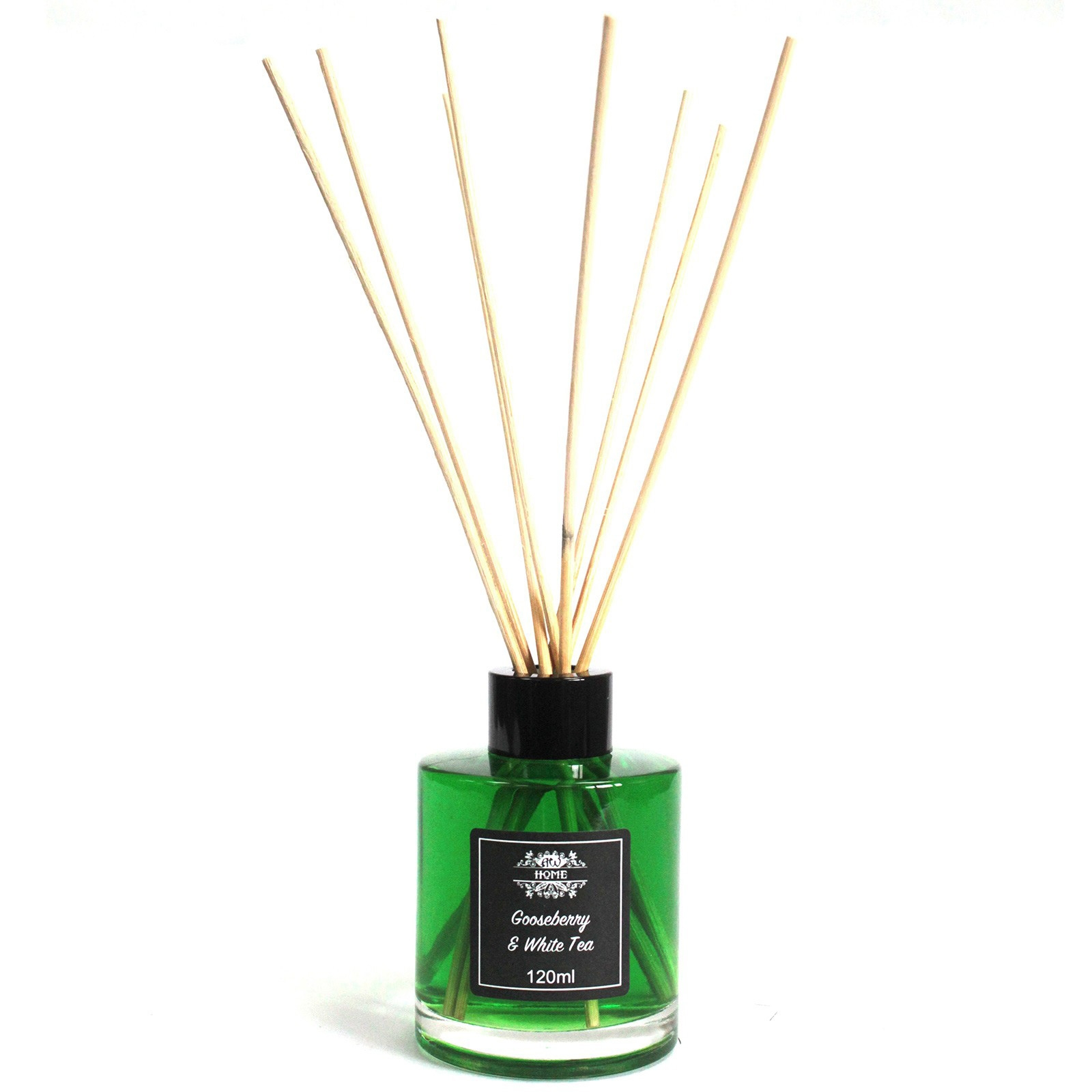 Click to view product details and reviews for Gooseberry And White Tea Reed Diffuser 120ml.