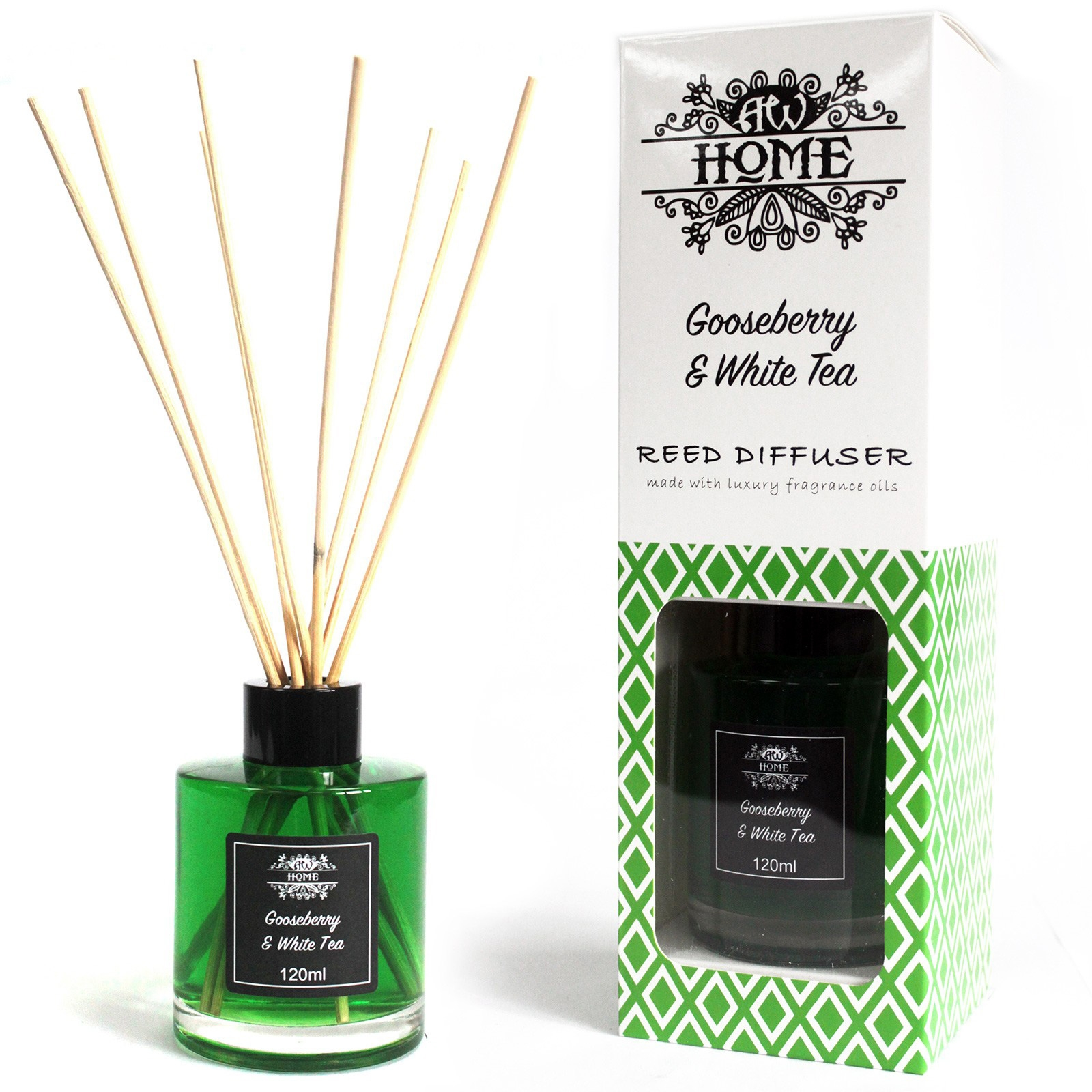 Gooseberry And White Tea Reed Diffuser 120ml