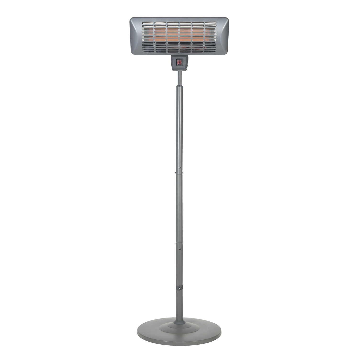 Click to view product details and reviews for Grey Quartz Standing Heater.