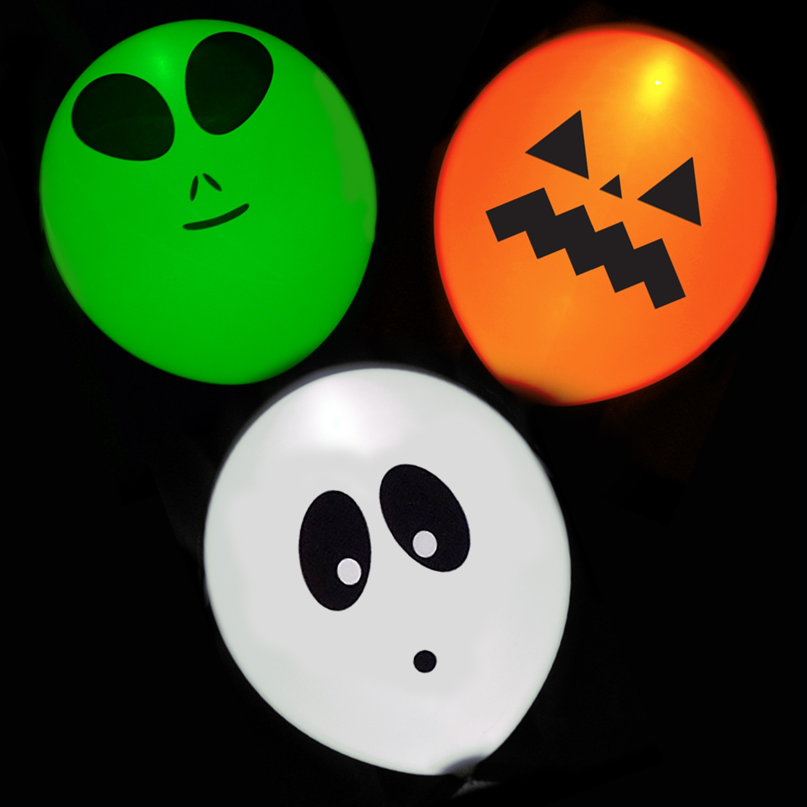 Click to view product details and reviews for Illoom Light Up Halloween Balloons 5 Pack.