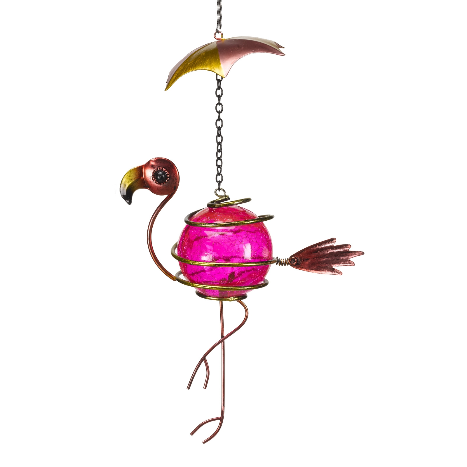 Click to view product details and reviews for Hanging Bouncy Flamingo Decoration.
