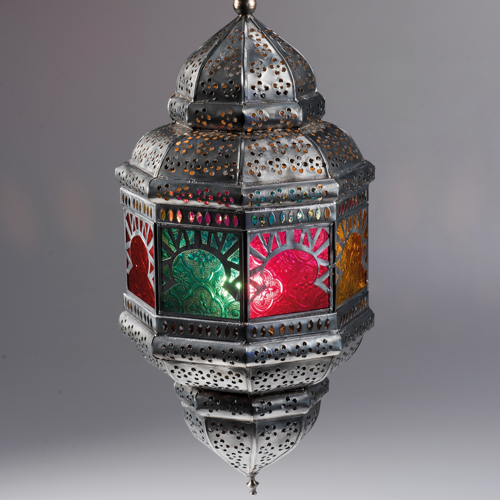 Click to view product details and reviews for Large Colourful Hanging Lantern.