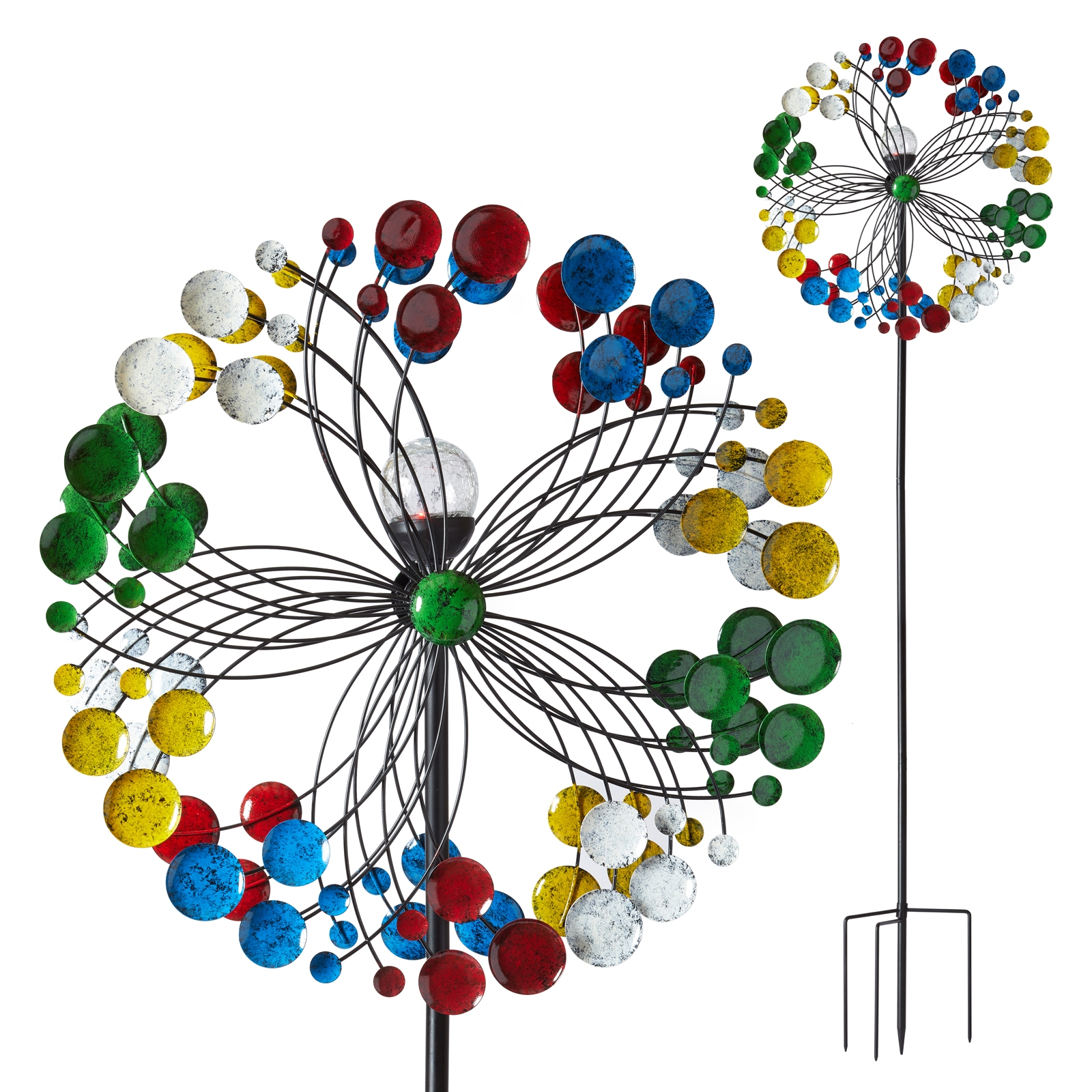 Click to view product details and reviews for Harlequin Solar Led Wind Spinner.