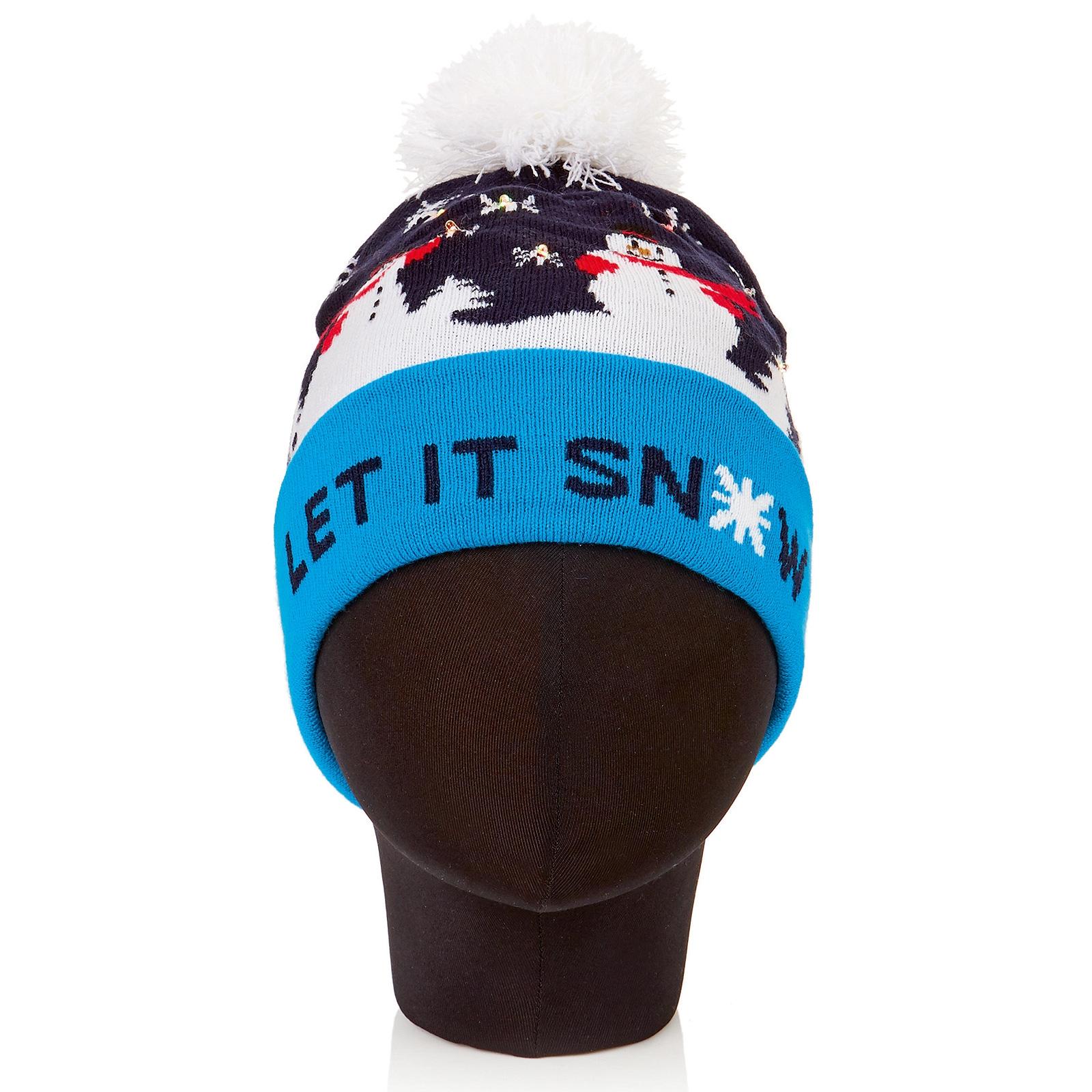 Led Let It Snow Hat