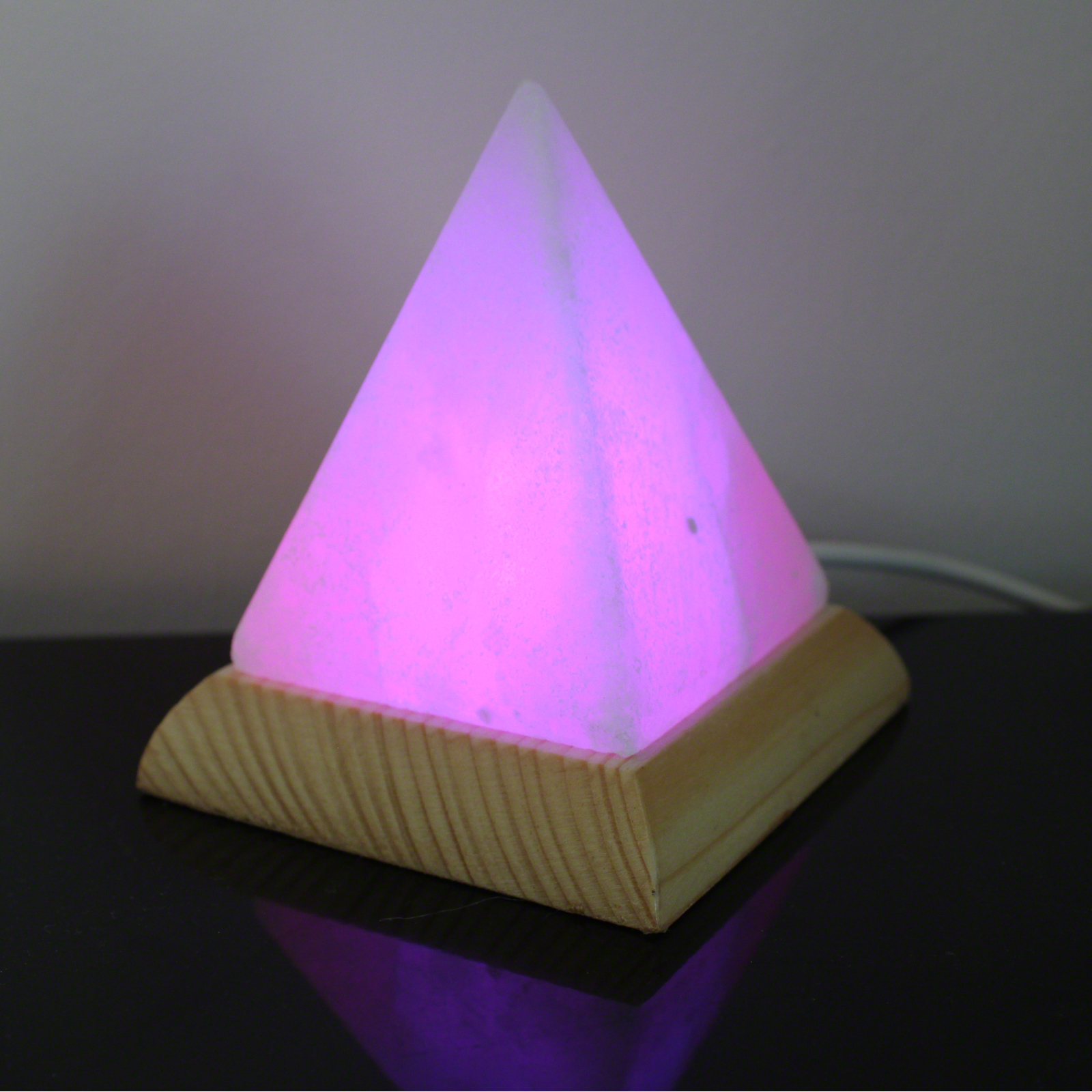 Click to view product details and reviews for Himalayan Salt Usb Pyramid Lamp 27102.