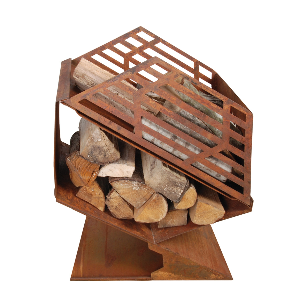 Click to view product details and reviews for Honeycomb Fireplace With Woodstore Ff143.