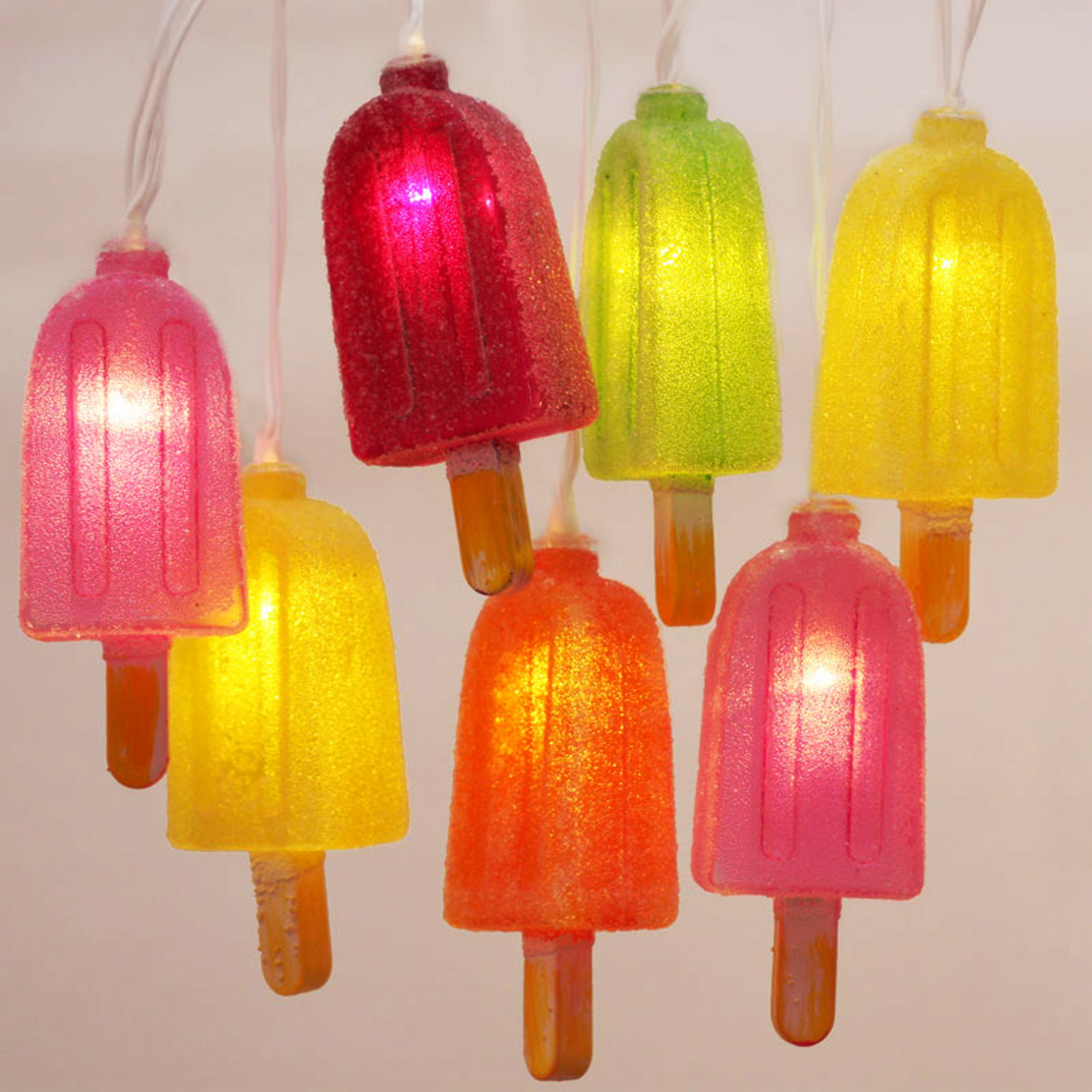 Click to view product details and reviews for Ice Lollies String Lights.