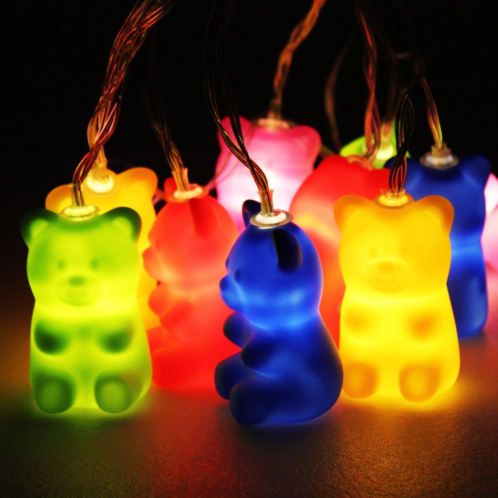 Jelly Bear Fairy Lights