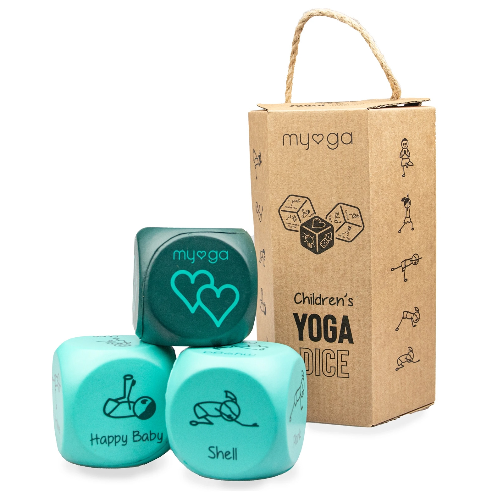 Click to view product details and reviews for Kids Yoga Dice.