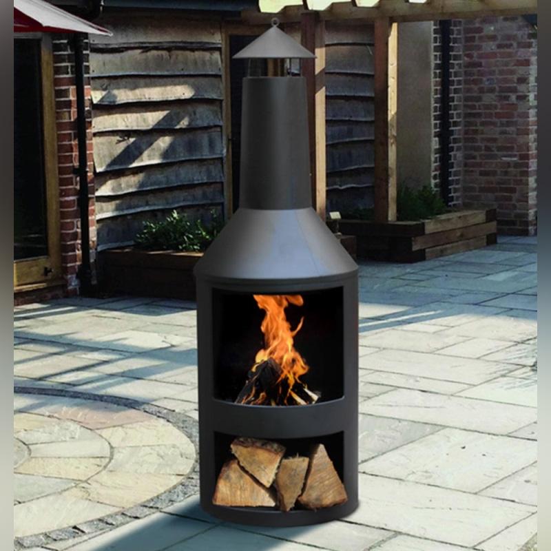 Kingfisher Log Burner Fire Pit Heater