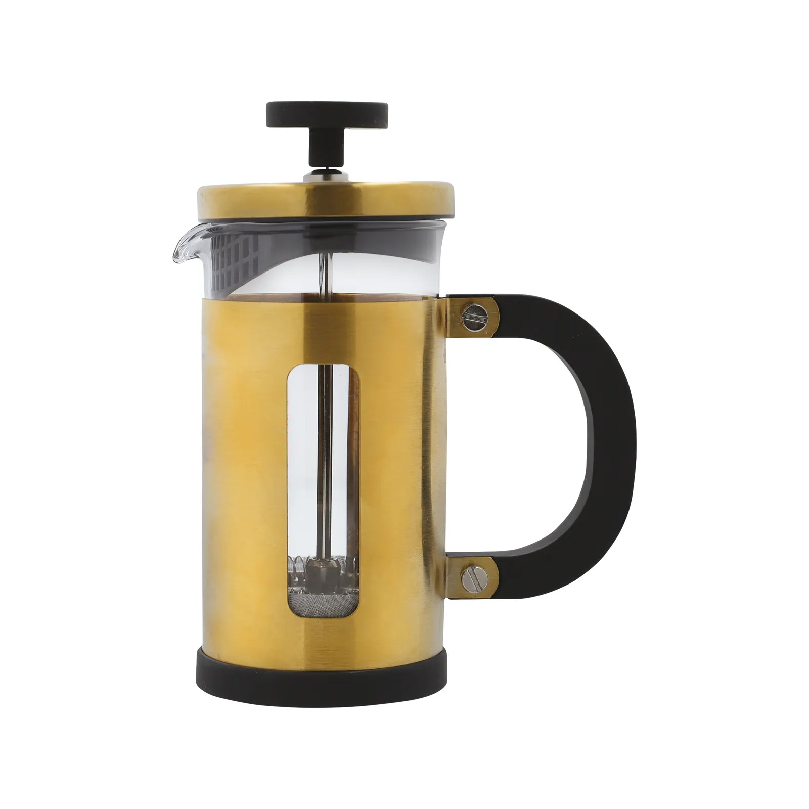 Click to view product details and reviews for La Cafetiere 3 Cup Brushed Gold.