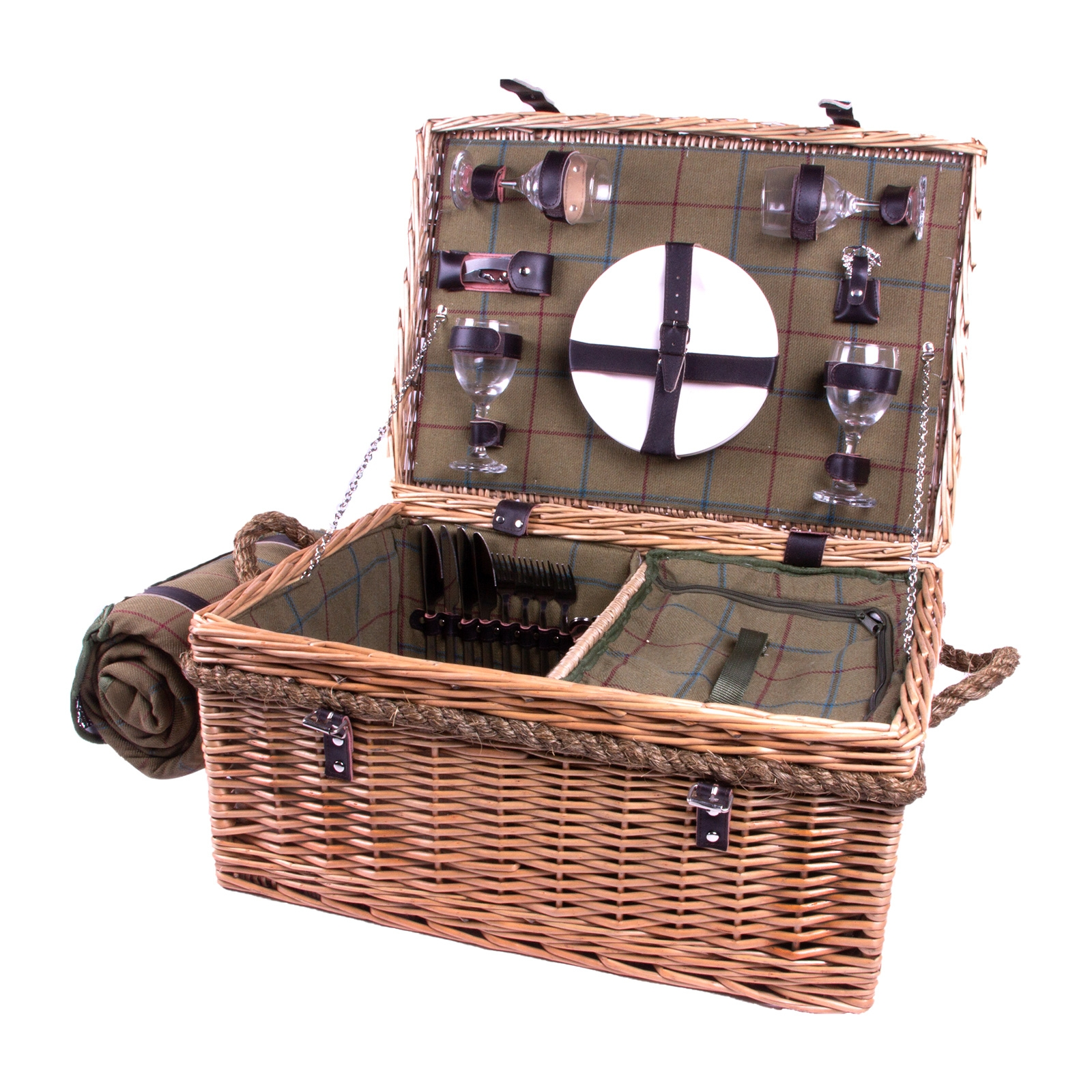 Click to view product details and reviews for Lancaster 4 Person Picnic Hamper.