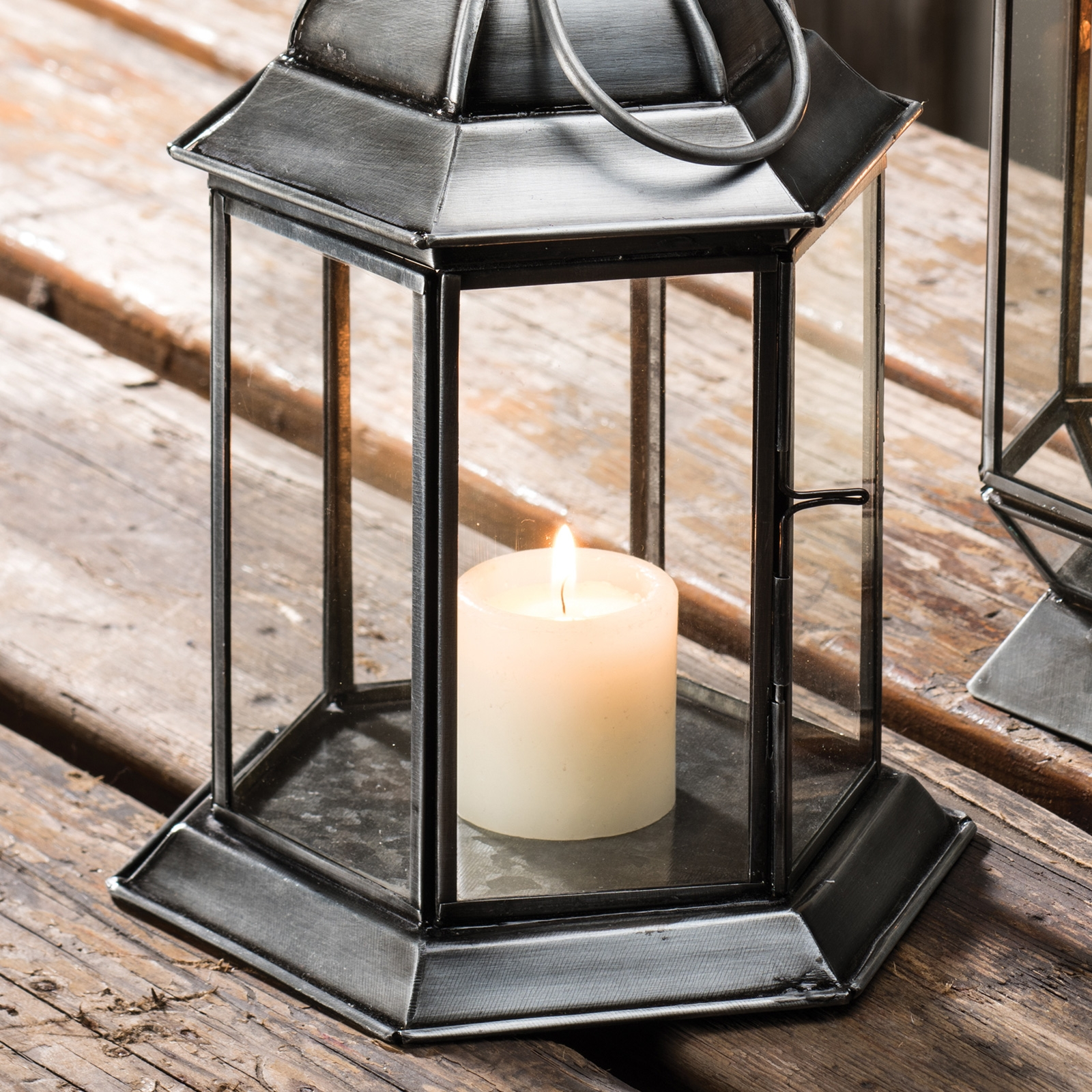 Click to view product details and reviews for Large Antique Finish Moroccan Glass Lantern 35cm Lt134.