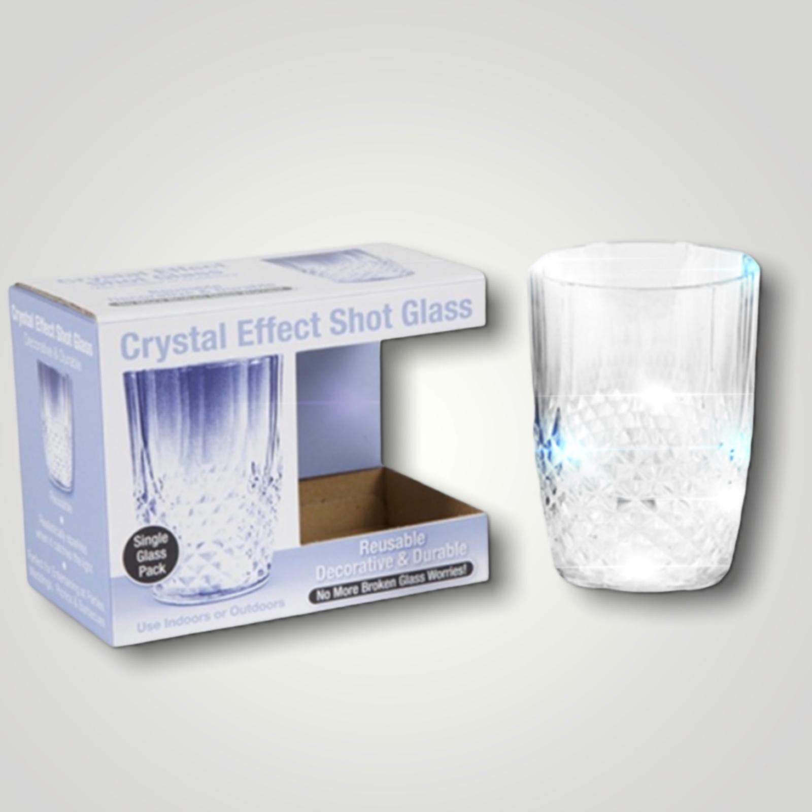 Crystal Effect Plastic Tumbler Single Glass