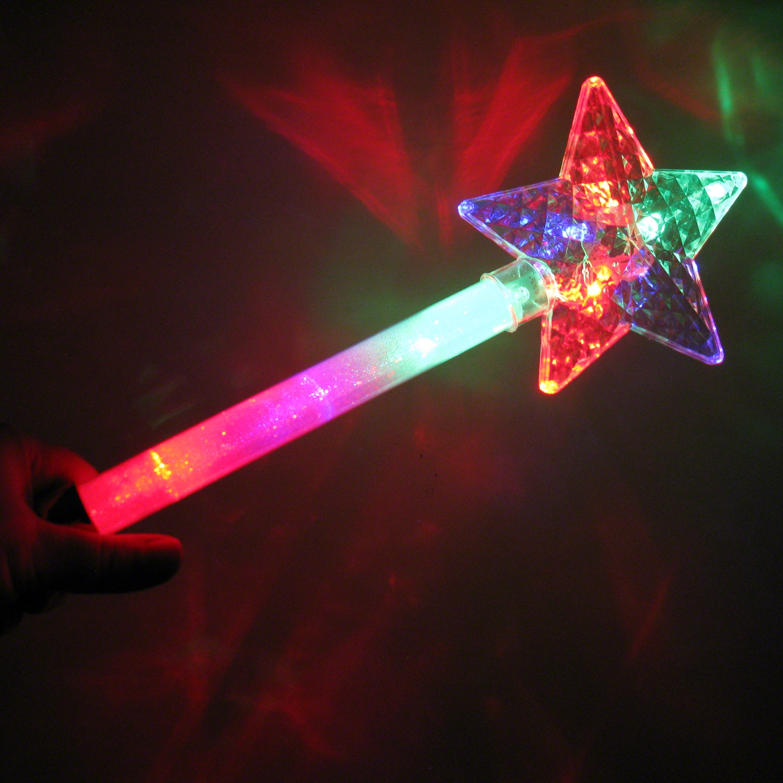 Click to view product details and reviews for Large Flashing Star Wand Wholesale.