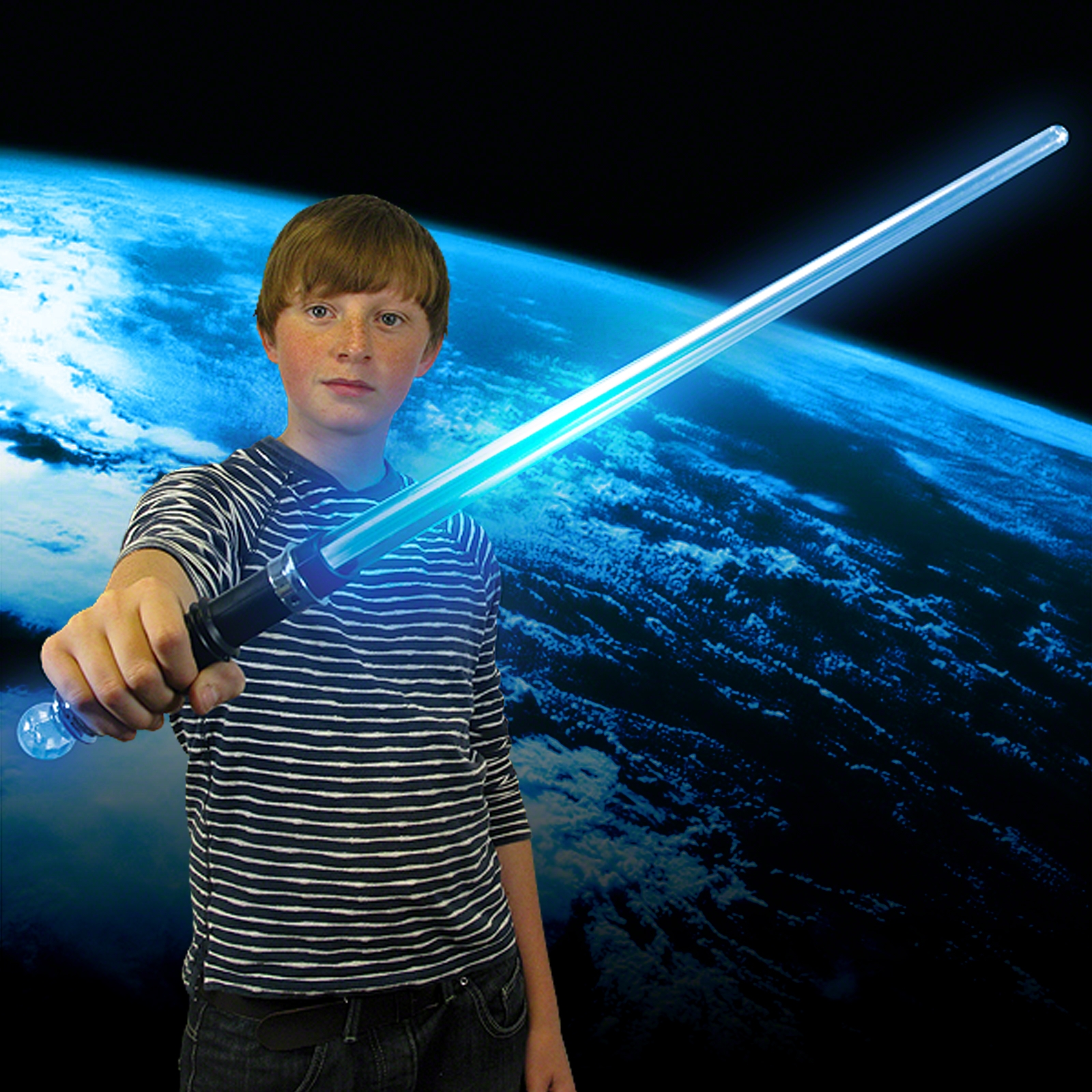 Click to view product details and reviews for Light Up Laser Sword With Ball.