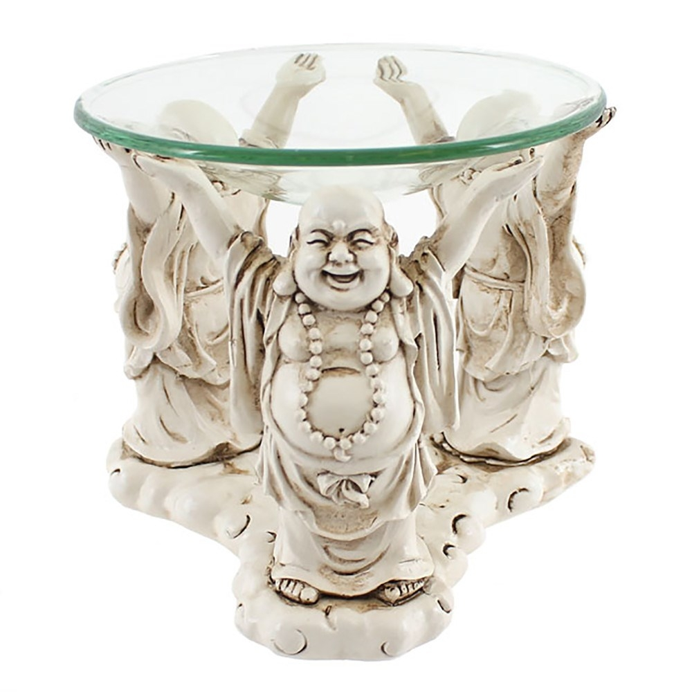 Laughing Buddha Oil Burner And Tealight Holder