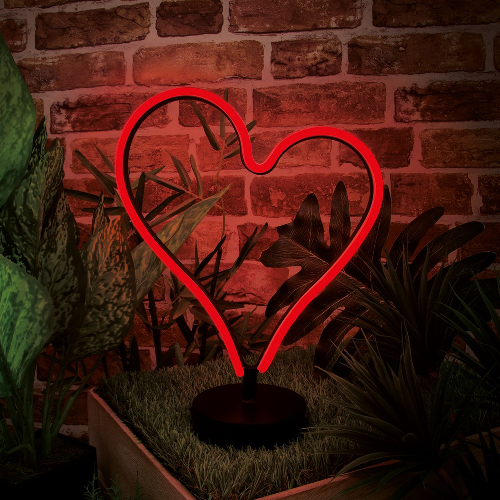 Click to view product details and reviews for Heart Led Neon Table Light.