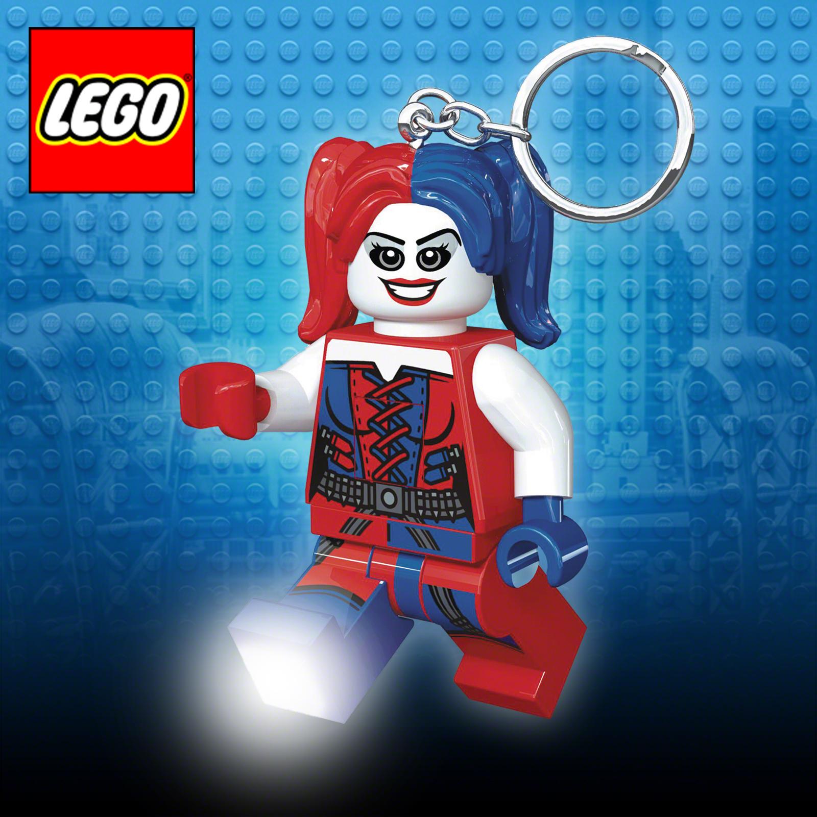 Lego Harley Quinn Keyring Torch