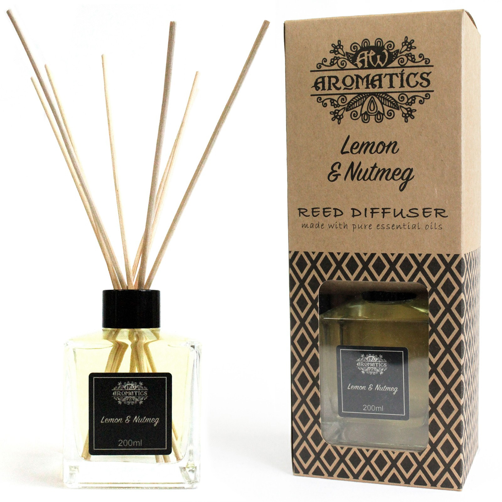 Lemon And Nutmeg Reed Diffuser 200ml