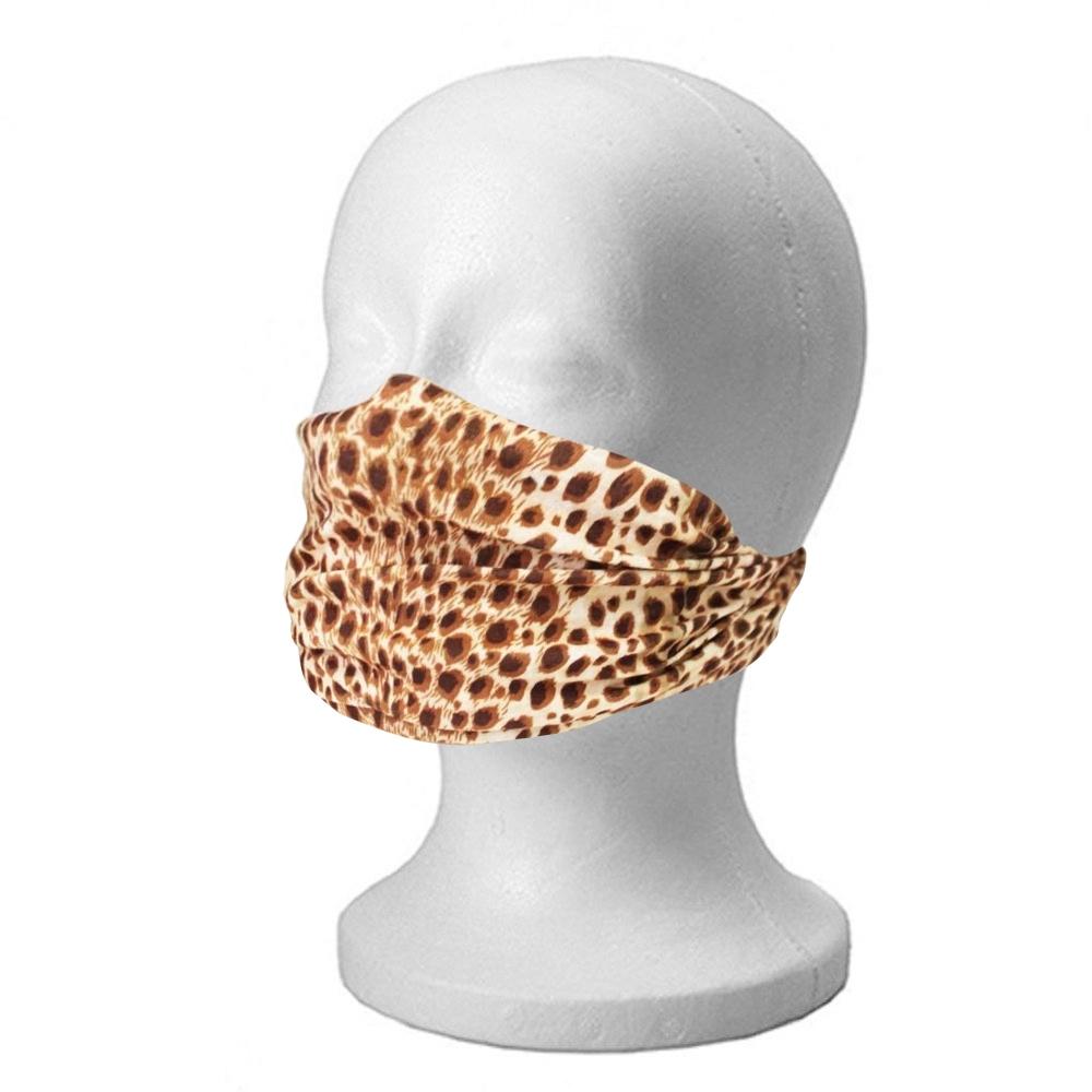 8 In 1 Leopard Face Head Scarf