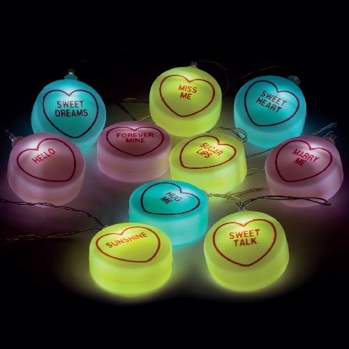 Click to view product details and reviews for Love Hearts Fairy Lights.