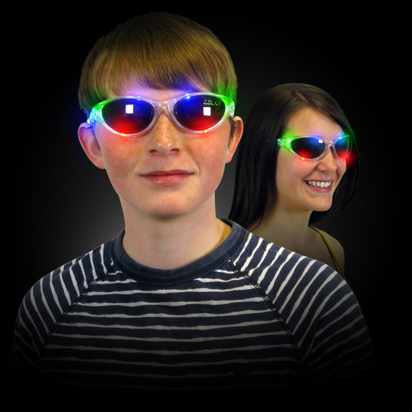 Click to view product details and reviews for Light Up Flashing Shades.