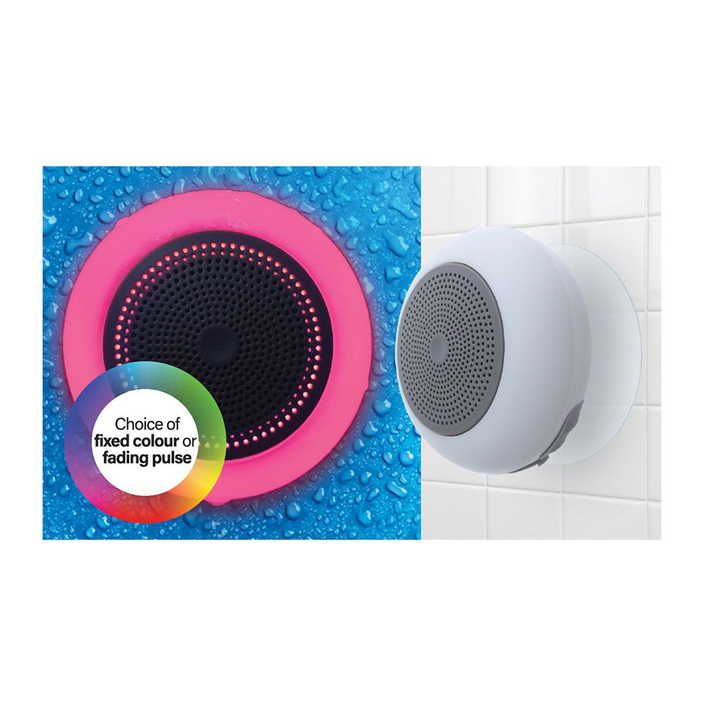 Click to view product details and reviews for Light Up Shower Speaker.