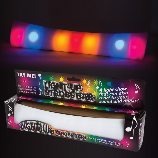 Click to view product details and reviews for Light Up Sensory Strobe Bar.