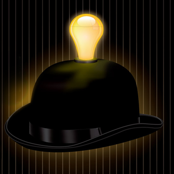 Click to view product details and reviews for Light Headed Bowler Hat.