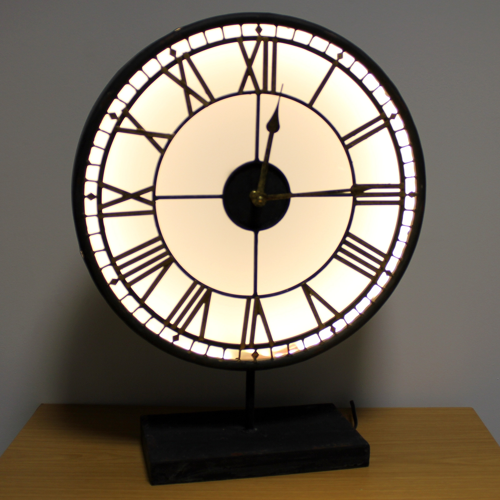 Click to view product details and reviews for Back Lit Westminster Clock.