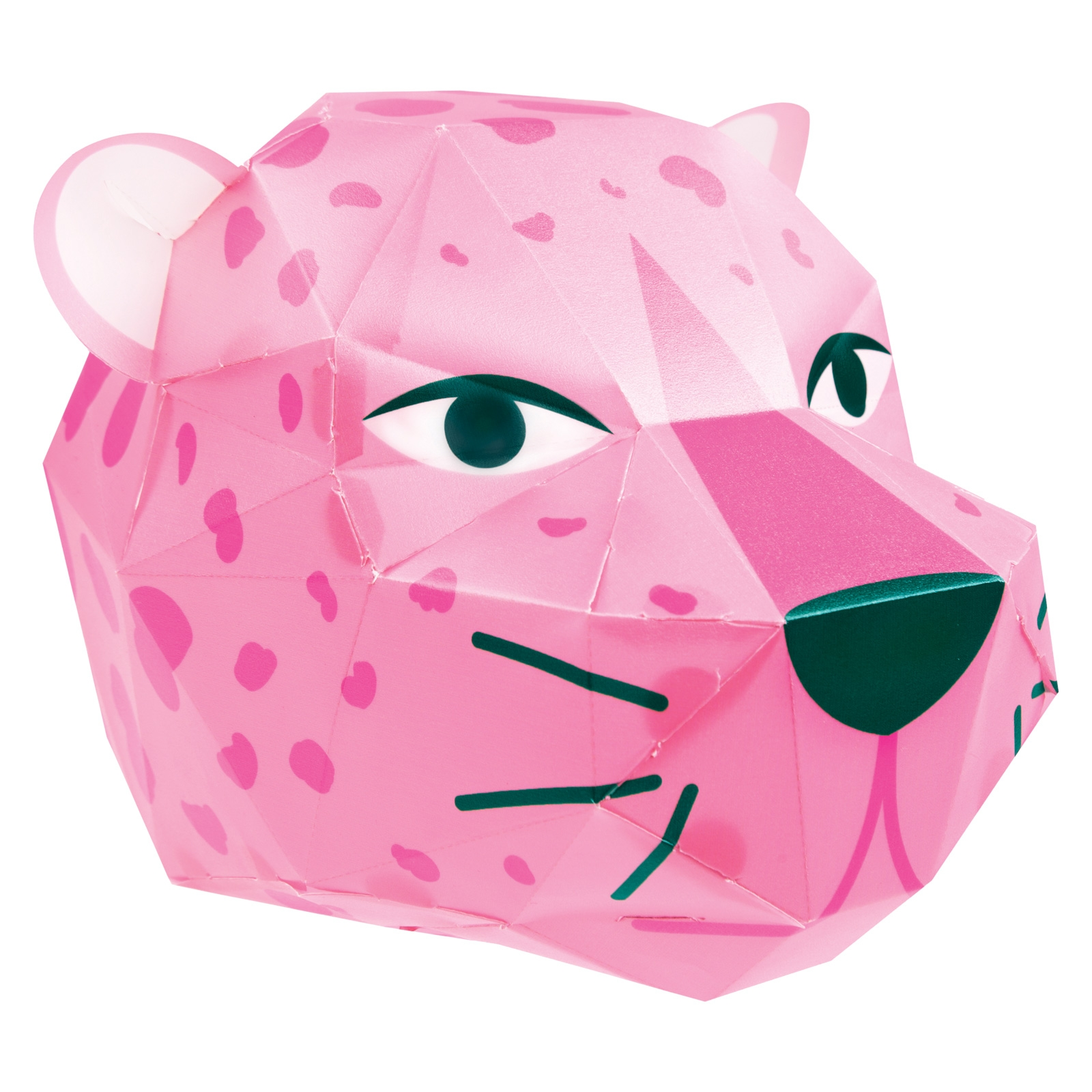 Click to view product details and reviews for Make Your Own Leopard Head Paper Light.