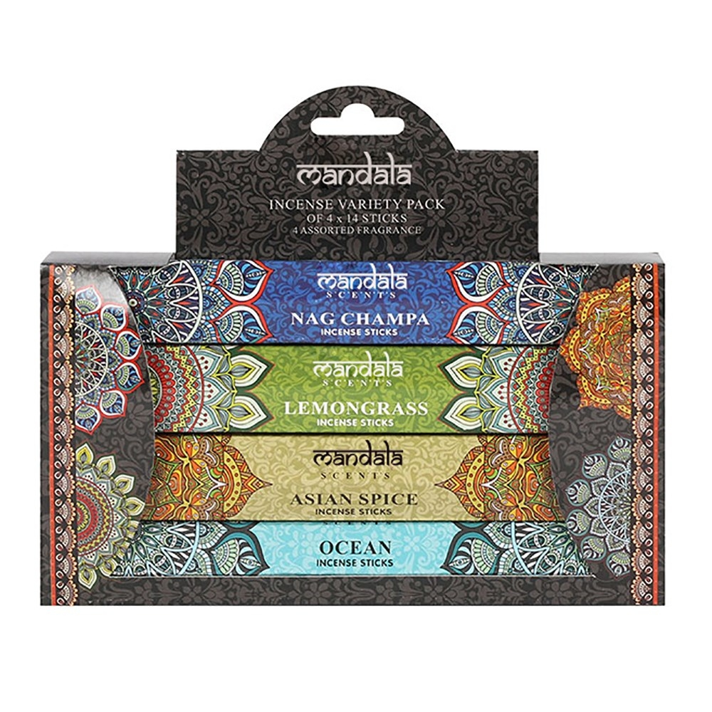 Click to view product details and reviews for Mandala Incense Stick Gift Set.