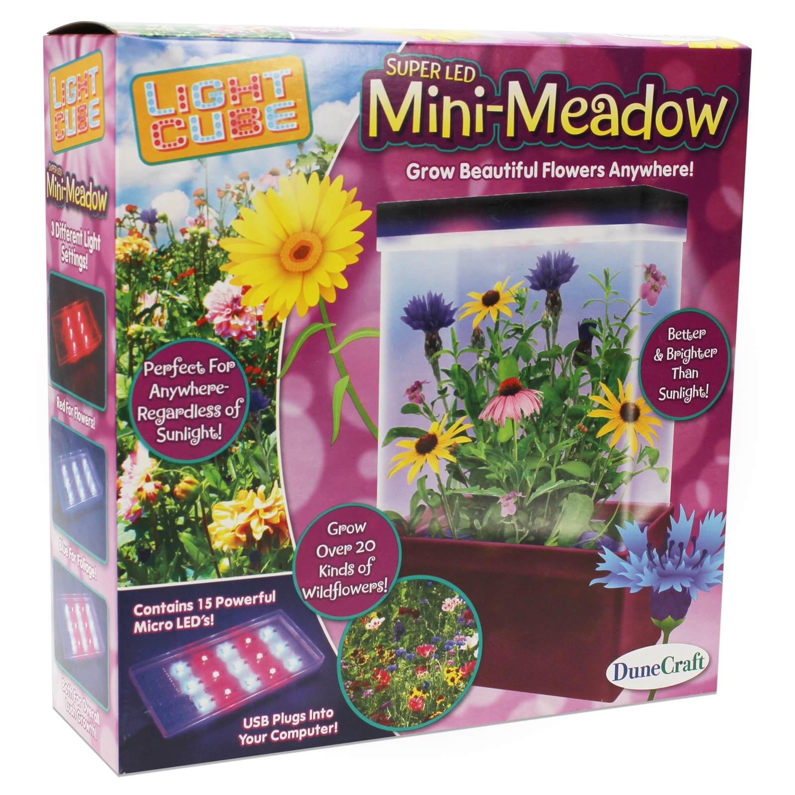 Mini Meadow Led Grow Cube