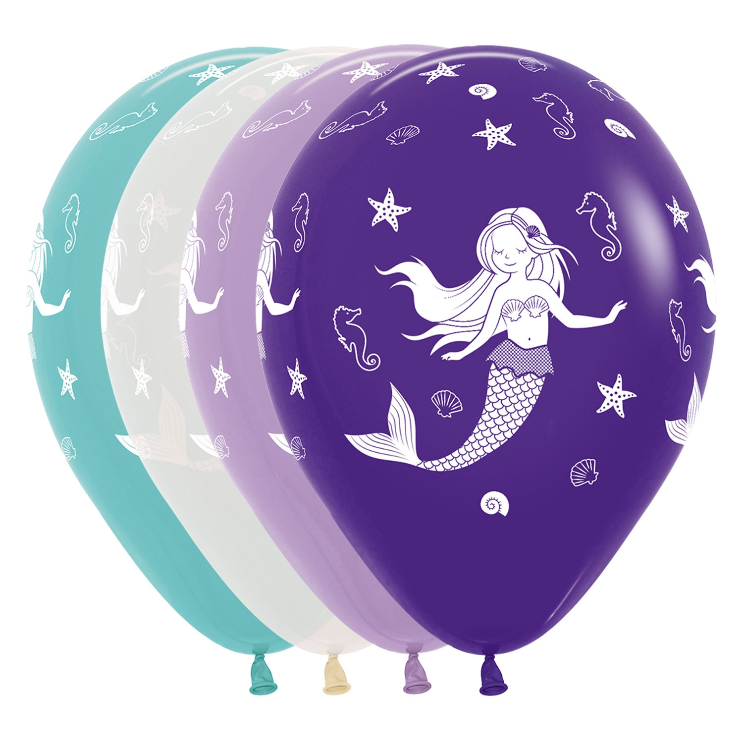 Click to view product details and reviews for 25 X Mermaid Balloons.