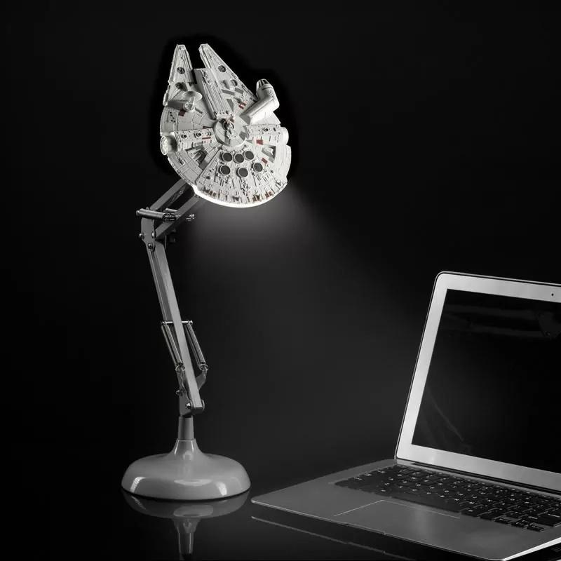 Millennium Falcon Poseable Table Lamp