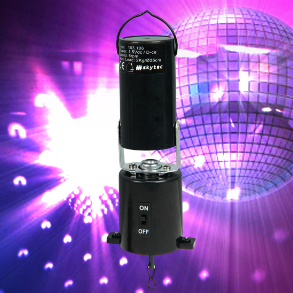 Click to view product details and reviews for Mirrorball Motor Battery Powered 153106.
