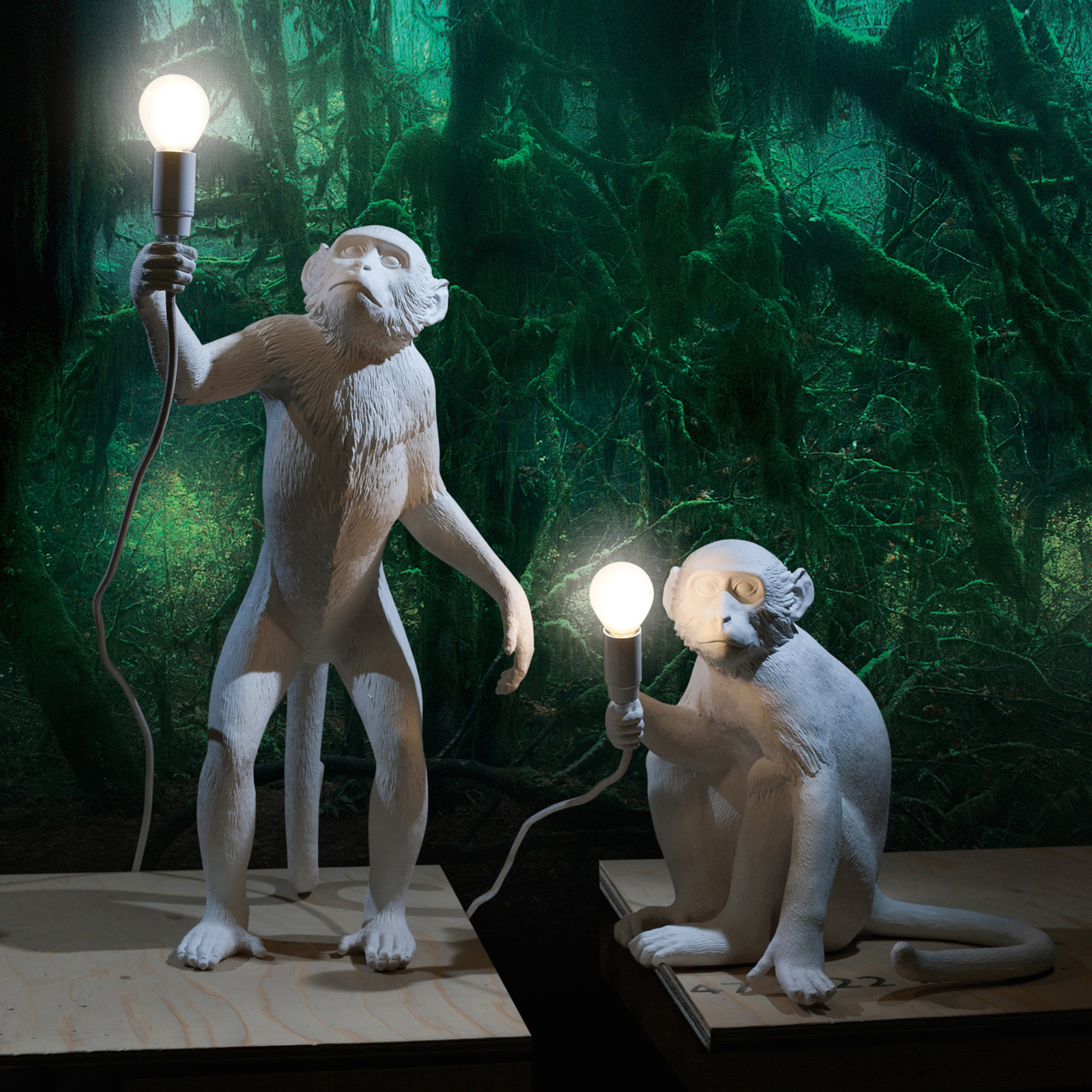 Click to view product details and reviews for Seletti Monkey Lamps.