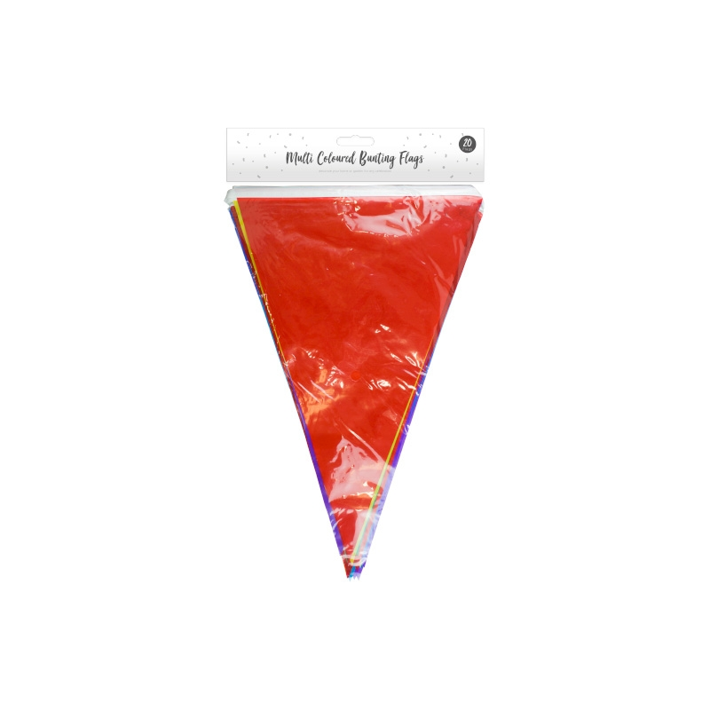 Click to view product details and reviews for Multi Coloured Bunting Flags X 20.