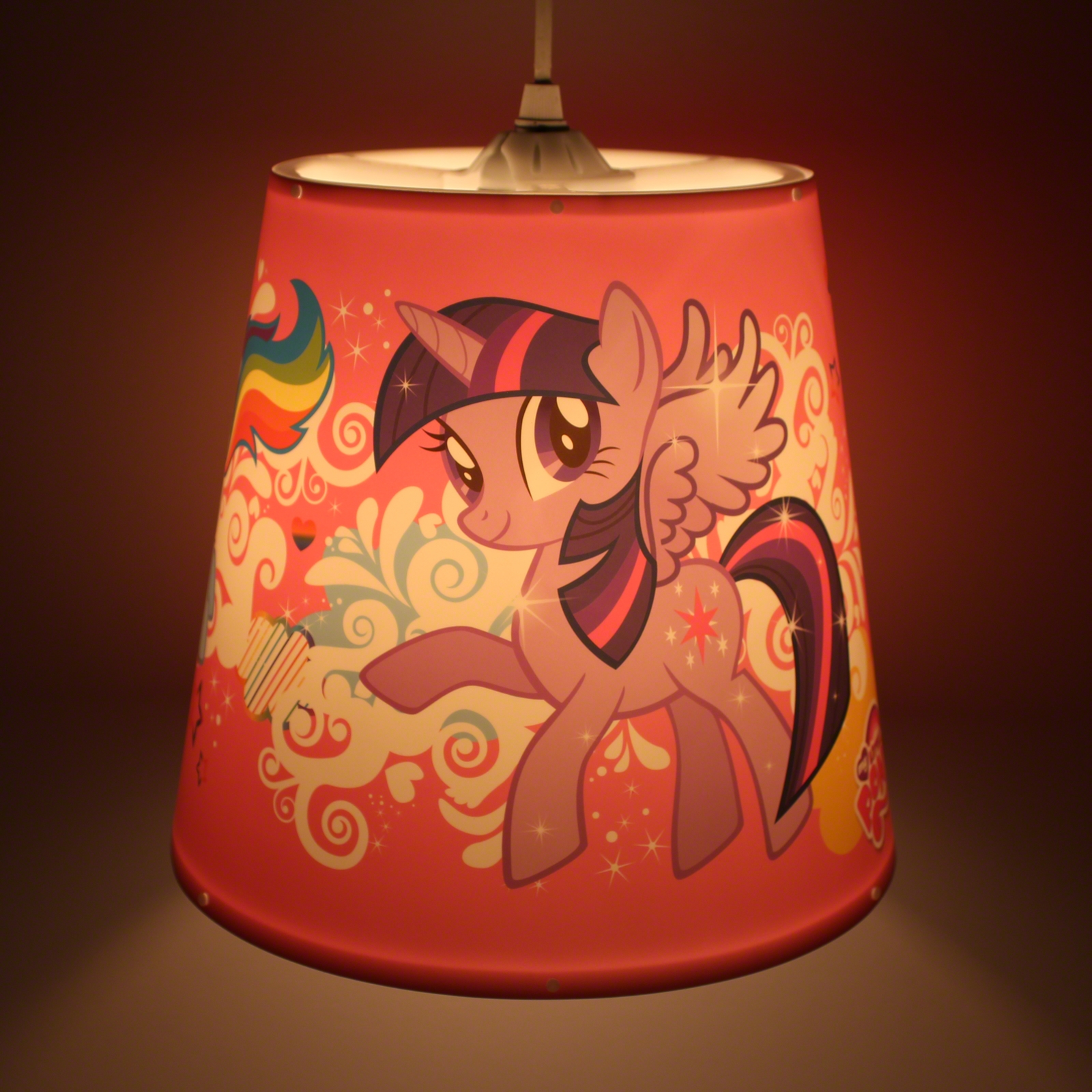Click to view product details and reviews for My Little Pony Lampshade.