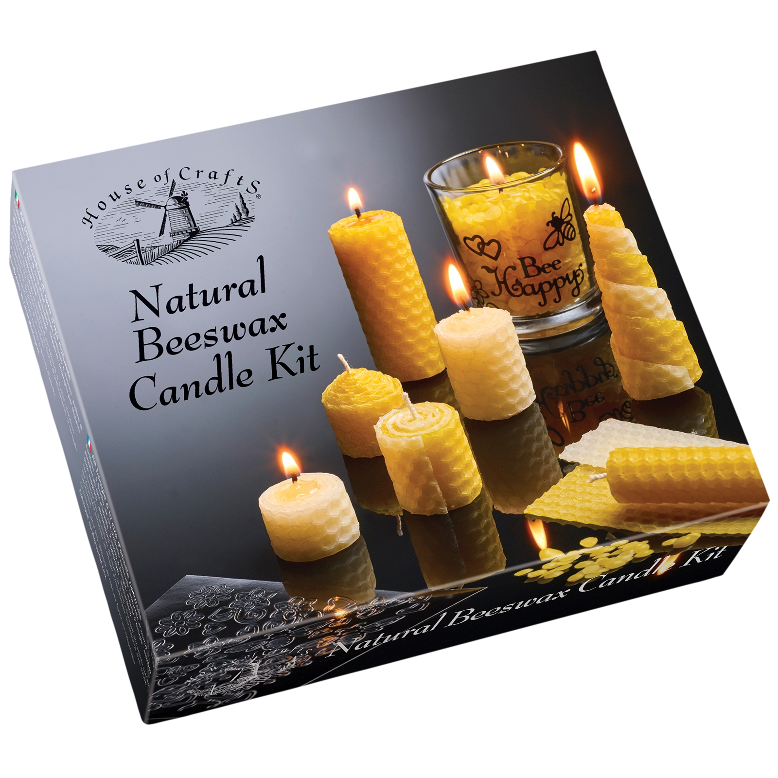 Click to view product details and reviews for Natural Beeswax Candle Kit.