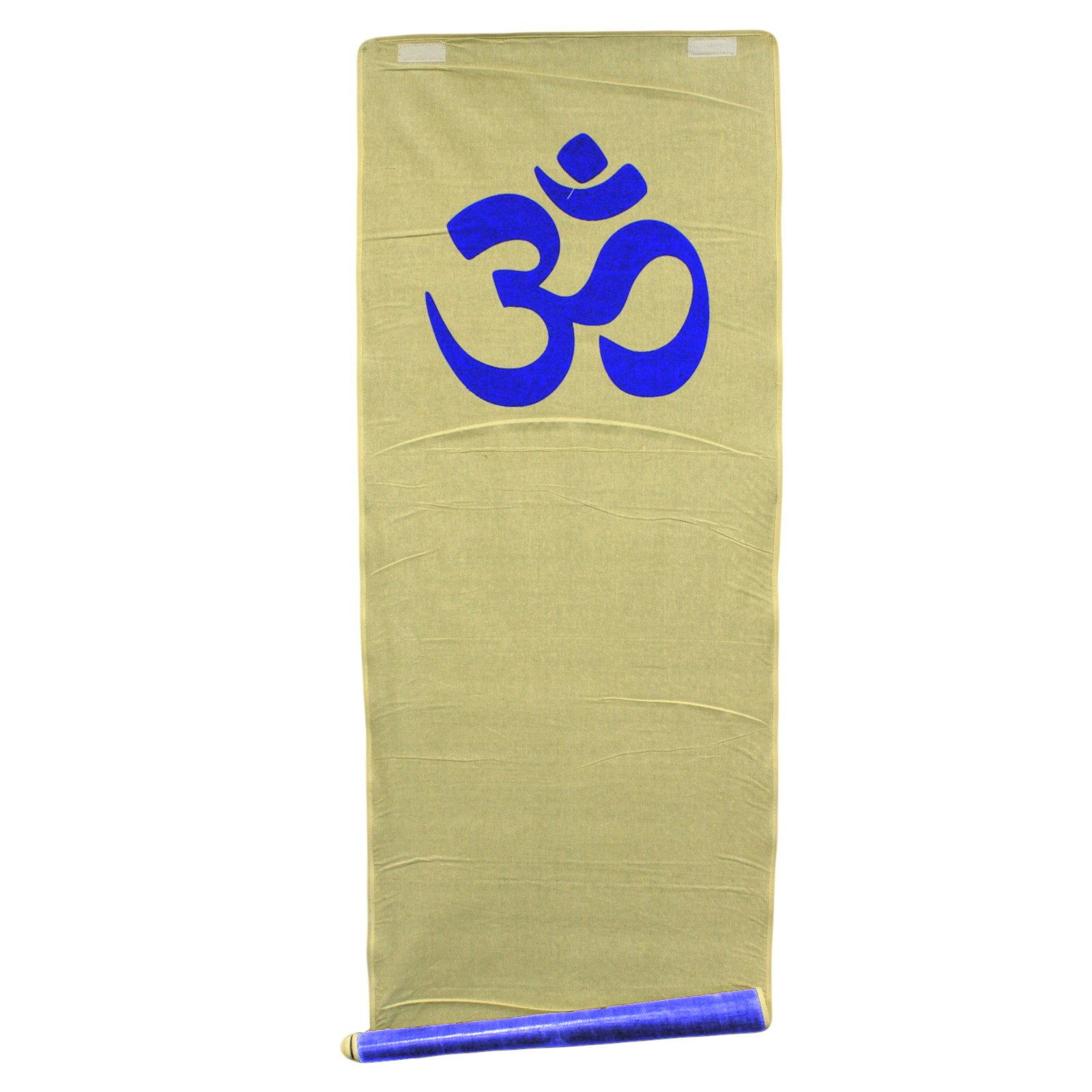 Natural Jute Yoga Mat Om