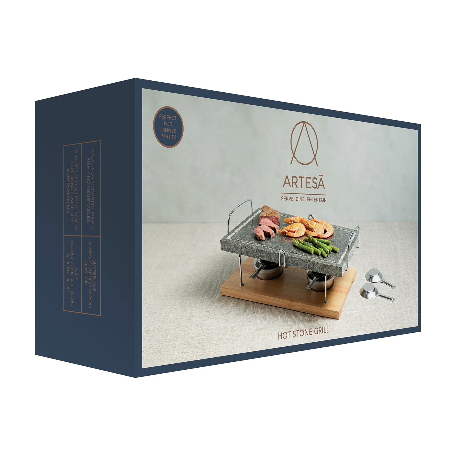 Click to view product details and reviews for Marble Hot Stone Grill By Artesa.