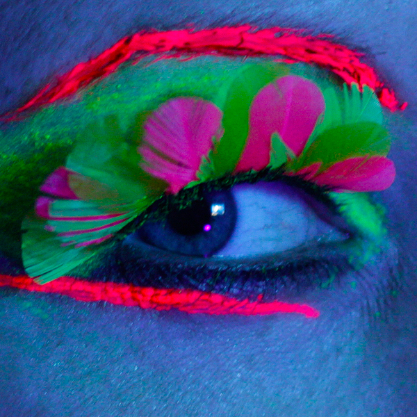 Click to view product details and reviews for Neon Feather Eyelashes.