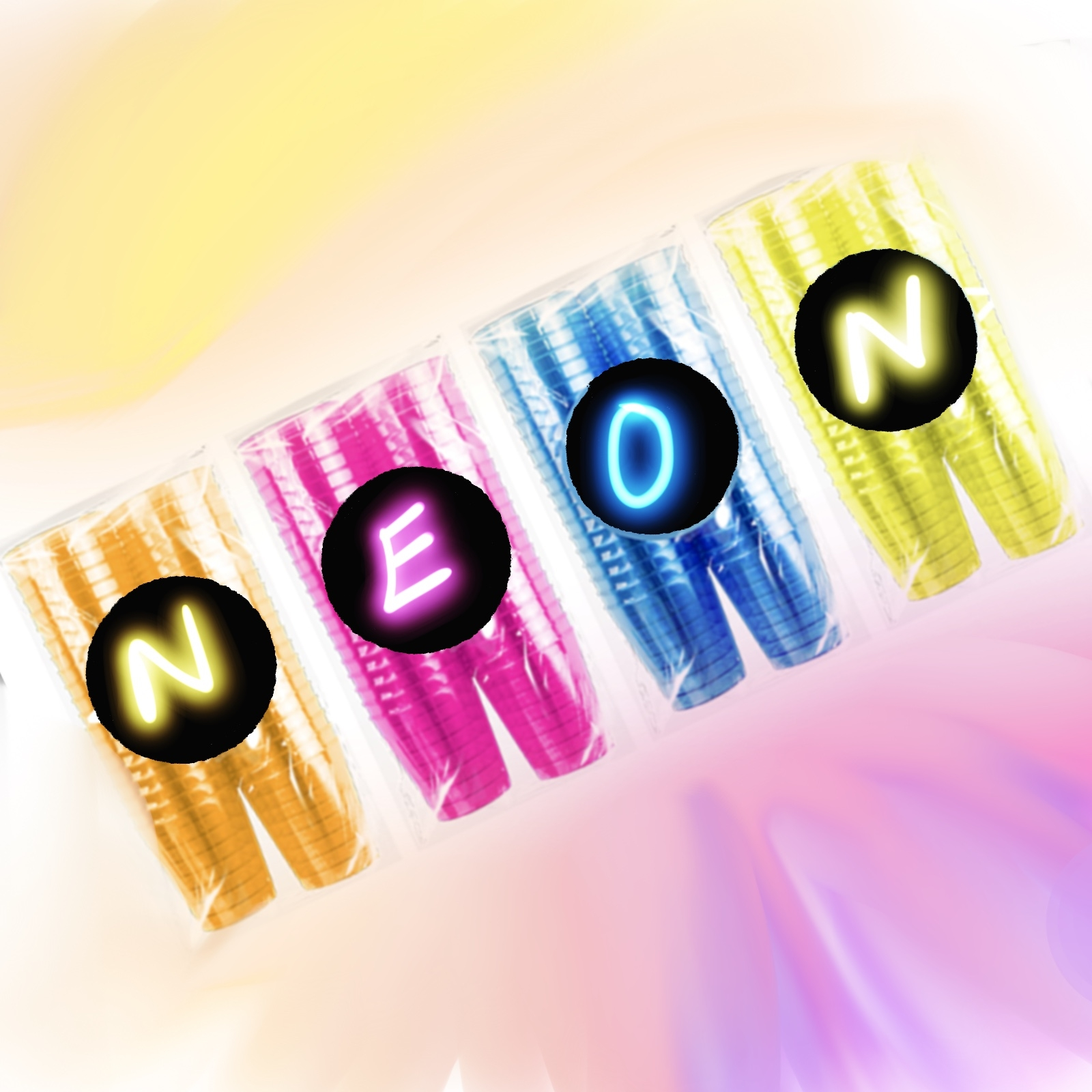 Click to view product details and reviews for 160 X Neon Plastic Shot Glasses.