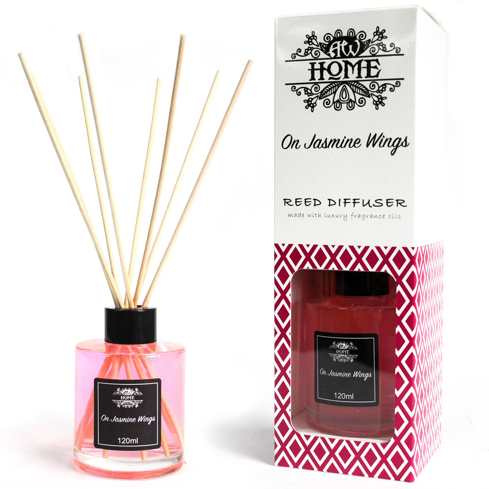 Click to view product details and reviews for On Jasmine Wings Reed Diffuser 120ml.